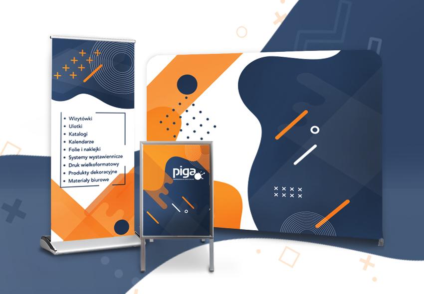 Prezentacja wizualna firmy na targach – wizerunek i jego budowa poprzez prezentację stoiska w środowisku branżowym.